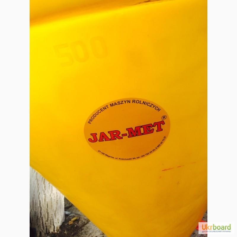 Фото 8. Разбрасыватель минеральных удобрений лейка на 500-1000 л (розкидач)