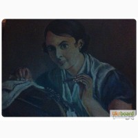 Копия картины В.А. Тропинина «Кружевница»