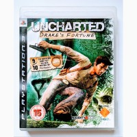 Uncharted Drake#039;s Fortune PS3 диск