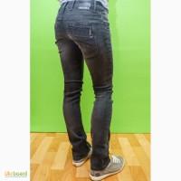 Круті джинси жіночі фірми Freesoul темно-сірого кольору, р.25/32