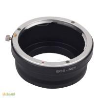 Переходник адаптер Canon EOS - Sony NEX E