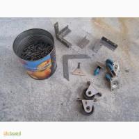 Колесики для мебели новые синие 4 шт, черные 2 шт