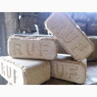 Брикеты топливные стандарта «Ruf» дубовый и смешанные породы