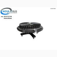 Вискомуфта вентилятора 4НК1 Евро 3 ISUZU NPR 75 Богдан 092