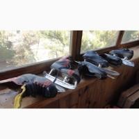 Коньки хоккейные, размер 245 и фигурные размер 38