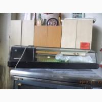 Сушикейсы, настольные, холодильные витрины б/у