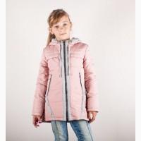 Демисезонная куртка парка для девочки 122-146 р разные цвета