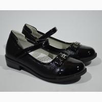 Туфли для девочки Том.м арт.1420B black с 28-33 р