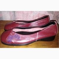 Кожаные туфли Damart, 37р