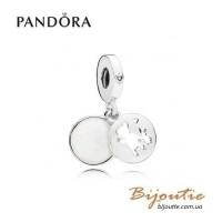 PANDORA шарм-подвеска идеальные друзья ― 797035EN23