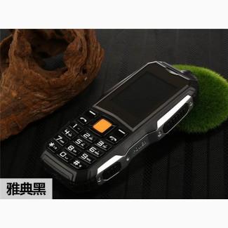 Телефон противоударный 2- СМ Карты Батарея 3800 мАч Супер Фонарик