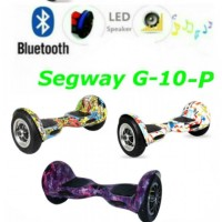 Гирocкутер 10 дюймов + APP + самобаланс G-10-P Allroad Pro led mini segway smart
