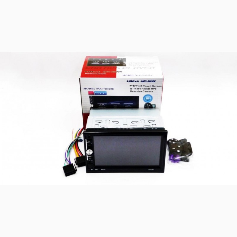 Фото 2. Автомагнитола 2din Pioneer 7040 USB, BT, SD пульт на руль