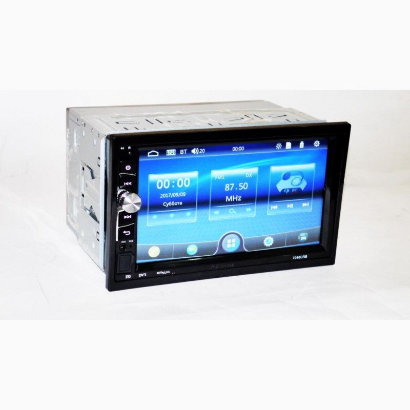 Фото 4. Автомагнитола 2din Pioneer 7040 USB, BT, SD пульт на руль