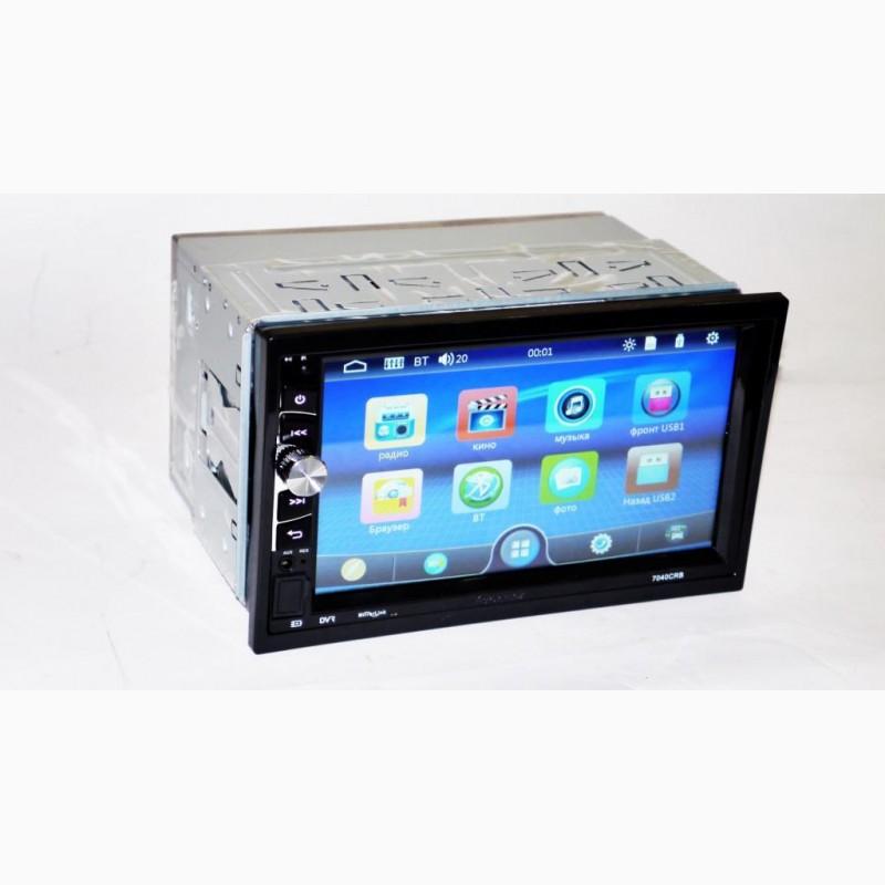 Фото 5. Автомагнитола 2din Pioneer 7040 USB, BT, SD пульт на руль