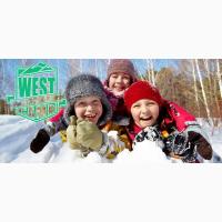 Зимний Лагерь в Карпатах WEST CAMP KIDS 2019