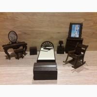 Набор мебели для кукольного домика Спальня