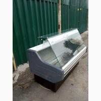 Морозильная витрина Cold 1, 45 м. б/у, холодильный прилавок б/у
