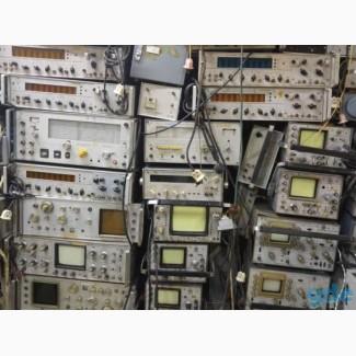Частотомер, осциллограф, генератор, измеритель, рация