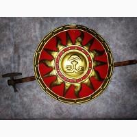 Славянский щит Ярило и шлем