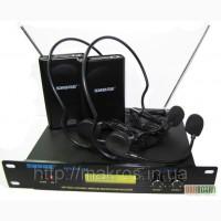 Беспроводной наголовный радиомикрофон на базе SHURE SM58
