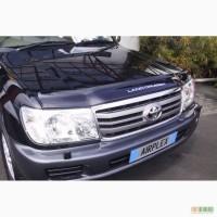 Пластиковая защита фар Toyota Land Cruiser 100 1998-2004 гг.в.
