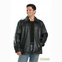 Куртка мужская, кожаная