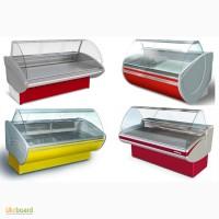 Вітрини холодильні, універсальні, морозильні.Розстрочка