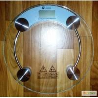 Весы напольные стеклянные круглые электронные (7-180 кг)