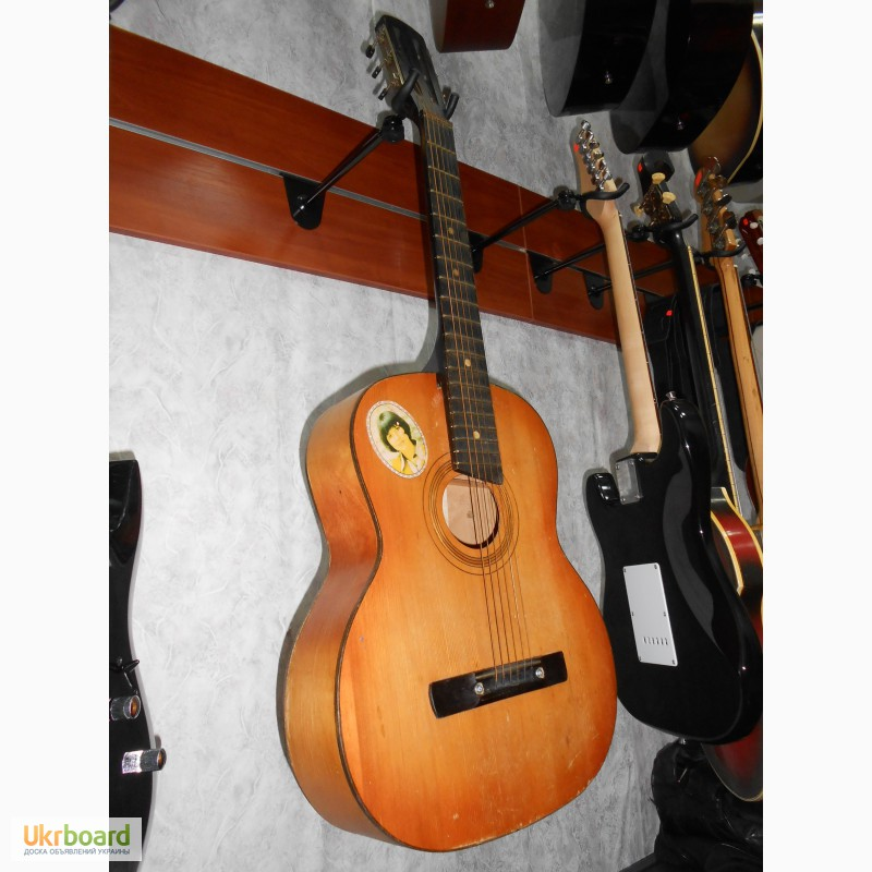 Гитара 6 струнная фото