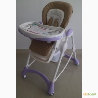 Стульчик для кормления вашего малыша Tilly Carrello Caramel CRL-9501