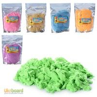 Кинетический песок, 6 цветов, 1000г, в пак. 20 29 4см MK0468