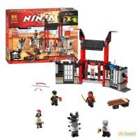 Конструктор BELA Ninjago, здание, фигурки, 241 дет., 10522