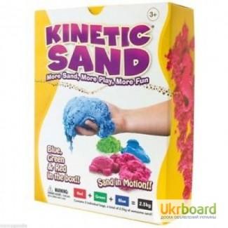 Уникальный цветной кинетический песок WABA Fun