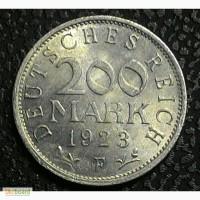 Германия 200 марок 1923 F год