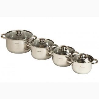 Набор кастрюль Supretto для индукционной плиты (8 предметов)