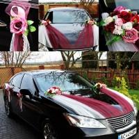 Продам украшение машины арт.9 (марсал) на свадьбу