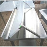 Кухонные навесные полки из нержавеющей стали