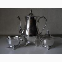 Посеребренный кофейный/чайный набор-International Silver CompanyUSA
