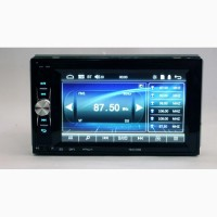 Автомагнитола 2din Pioneer 7621 USB, BT, SD пульт на руль