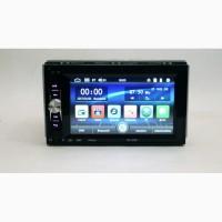 Автомагнитола 2din Pioneer 7621 USB, BT, SD пульт на руль