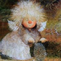 Купить копию картины Чувиляевой - Мой ёжик
