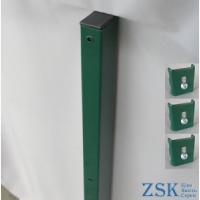 Столб 1.5м 60х40мм Классик крепления в комплекте