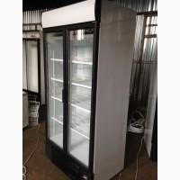 Качественное БУ! Шкаф холодильный. Холодильник купе стеклянная дверь