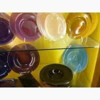 Цветная посуда для кафе. Чехия