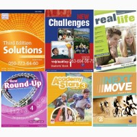 Продам цветной комплект Academy Stars, Round UP, Real Life, Challenges