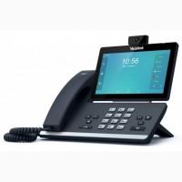 Yealink SIP-T58W, smart ip телефон, 16 sip, поддержка DECT, WiFi, Bluetooth, GigE