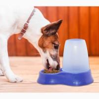 Автоматическая кормушка-поилка для кошек и собак