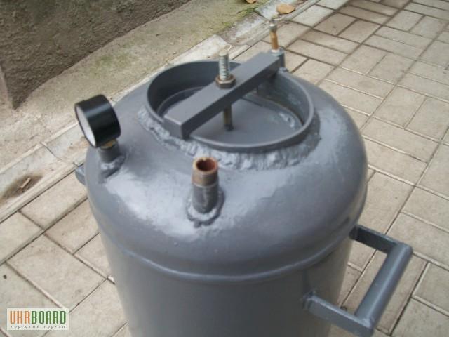 Автоклав своими руками из газового баллона с фото