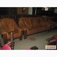 Комплект мягкой мебели GRIZLI - диван и 2 кресла. Мебель из Европы БВ.